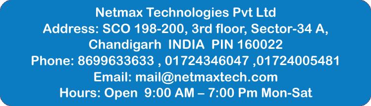 plc training in chandigarh PLC training in Chandigarh | Netmax Technologies Netmax office contact